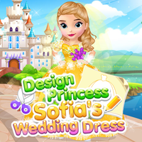 Design Princess Sofia's Wedding Dress