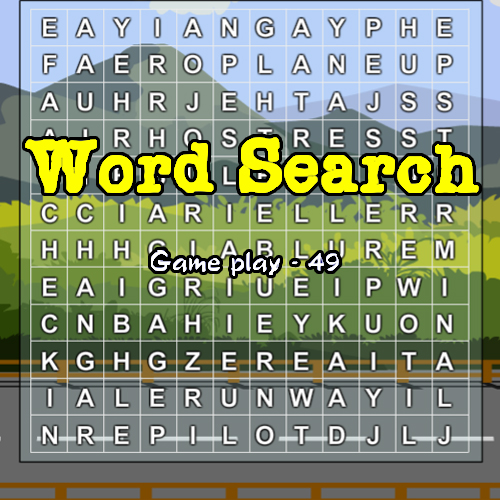 Word Search Gameplay: 49