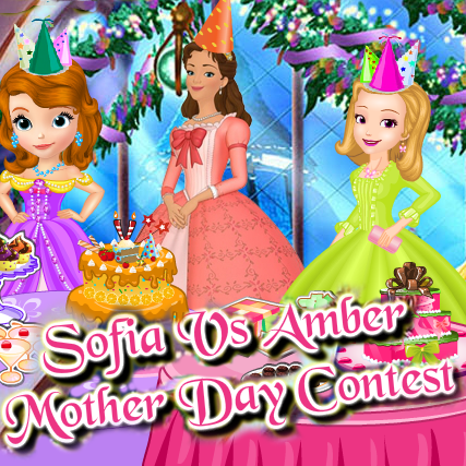 Sofia vs Amber: Mother Day Contest
