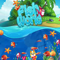 Fish World,Fish World is a Puzzle game. You can play Fish World in your browser for free. Fish World is a simple match 3 game, tap screen drag and drop the fish to get high score.