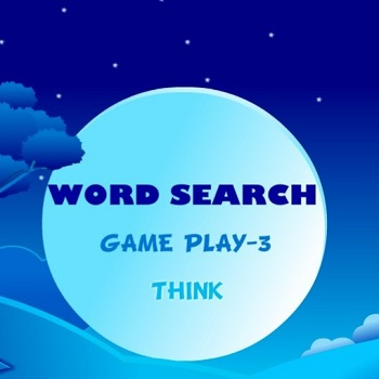 Word Search: Gameplay- 3 Think