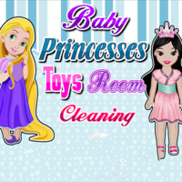 Baby Princesses: Toys Room Cleaning