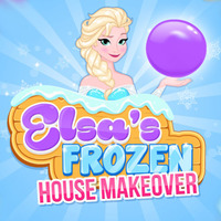 Elsa's Frozen: House Makeover