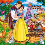 Sort My Tiles: Snow White & Seven Dwarfs