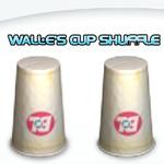 Wall. E's Cup Shuffle