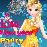 Elsa: New Year Party