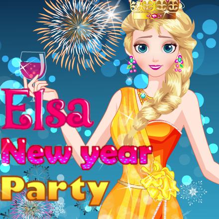 Elsa: New Year Party