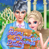 Boy and Princess Elsa dating