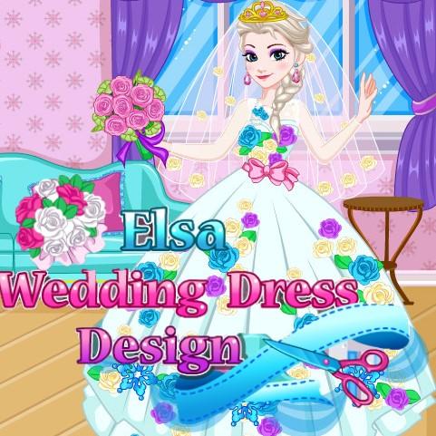 Elsa: Wedding Dress Design