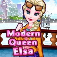 Modern Queen Elsa