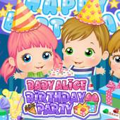 Baby Alice: Birthday Party