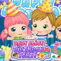 Baby Alice: Birthday Party