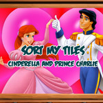 Sort My Tiles: Cinderella and Prince Charlie