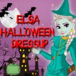 Elsa: Halloween Dressup