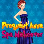 Pregnant Anna: Spa Makeover