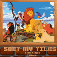 Sort My Tiles Lion Kings Pride