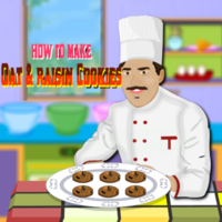 How to Make Oat and Raisin Cookies