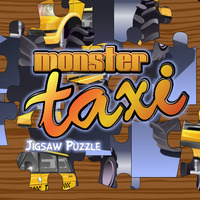 Monster Taxi Jigsaw Puzzle