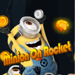 Minions On Rocket