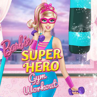 Barbie Superhero Gym Workout
