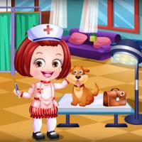 Baby Hazel Veterinarian Dressup