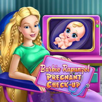Barbie Rapunzel Pregnant Check-Up