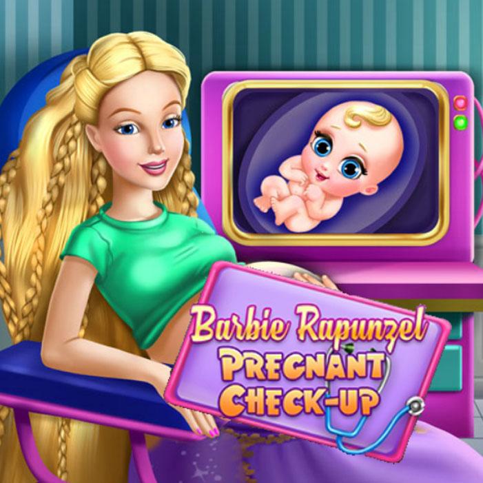 Barbie Rapunzel Pregnant Check-Up
