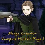 Manga Creator Vampire Hunter Page 1