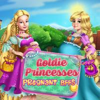 Goldie Princesses Pregnant BFFs