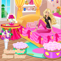 Barbie Bed Room Decor