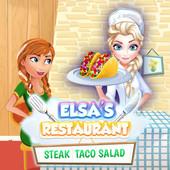 Elsa's Restaurant Steak Taco Salad