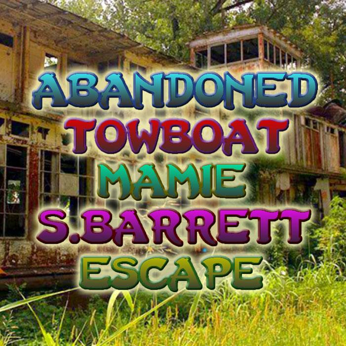 Abandoned Towboat Mamie S.Barrett Escape