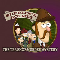 Sherlock Holmes The Tea Shop Murder Mystery