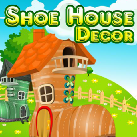 Shoe House Decor