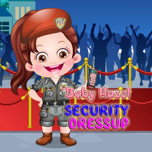 Baby Hazel Security Dressup