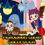 Halloween table decoration