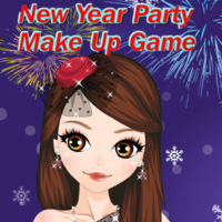 New Year Party Make Up Game