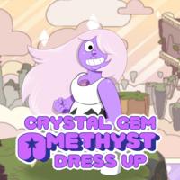 Crystal Gem Amethyst Dressup
