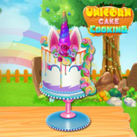 Unicorn Cake Cooking
