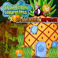 SpongeBob SquarePants Halloween Defense