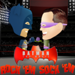 Batman The Movie Rock 'em Sock ' Em