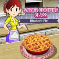 Sara's Cooking Class Rhubarb Pie