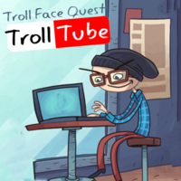 Troll Face Quest Troll Tube