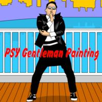 PSY Gentleman Painting