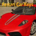 Ferrari Car Keys