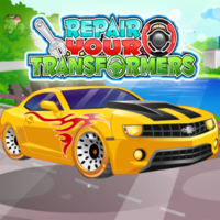 เกมออนไลน์ฟรี, Repair Your Transformers is one of the Cleaning Games that you can play on UGameZone.com for free. After a fierce and cruel battle with enemies, your transformer cars have damaged. Come and help to clean and fix Optimus Prime, Iron Hide and Bumblebee and etc. And then give them new looks.