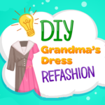 DIY Grandma's Dress Refashion
