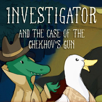 Game Online Gratis, Investigator and the Case of the Chekhov's Gun is one of the Detective Games that you can play on UGameZone.com for free. The investigator of the case is an alligator. Investigator and his sidekick The Bad Luck Duck dig deeper into what appears to be the suicide of The Bipolar Bear, who's been running an illegal growing in his basement.