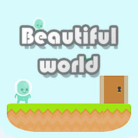 Permainan Baru Terbaik,Beautiful World is an online adventure game that you can play on UGameZone.com for free. The hero wants to find a beautiful world, but he needs to collect all the keys to open the door. Can you help him? Tap the screen's arrow keys or Using the keyboard's arrow keys to control the hero.