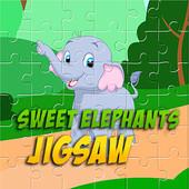Sweet Elephants Jigsaw